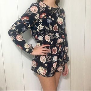 Floral romper from One ❤️ Clothing sz small